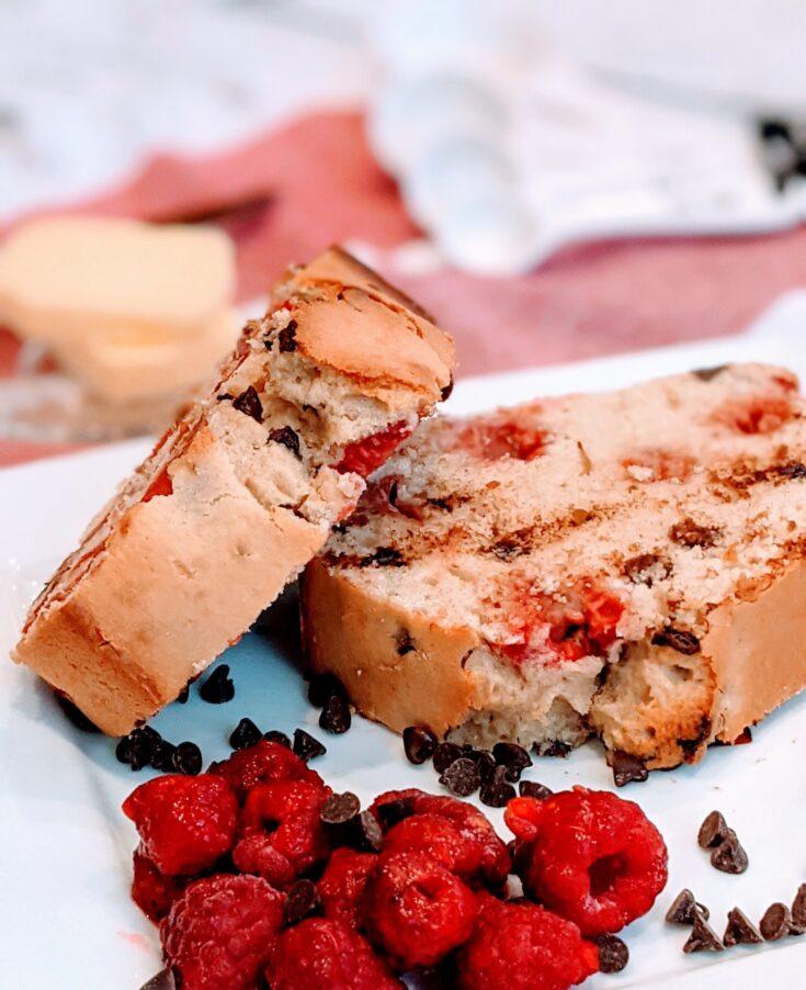 Raspberry Chip Muffin Bread
